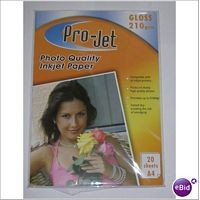 A4 Projet 210gsm Glossy Photo Paper